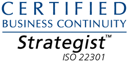 Certified ISO 22301 Business Continuity Strategist (Disaster Recovery)