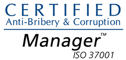 Certified ISO 37001 Anti-Bribery & Corruption Manager
