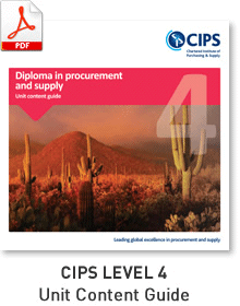 CIPS Purchasing and Supply Chain
