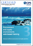 1. Advanced Certificate - Procurement & Supply Environments