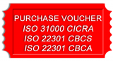 ISO 22301 CBCA Purchase Credit Voucher