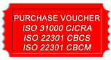ISO 22301 CBCM Purchase Credit Voucher