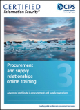 5. Advanced Certificate - Procurement & Supply Relationships