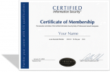New Membership: CIS Body of Certified Professionals (2019)